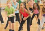 танцы дэнсхол для детей